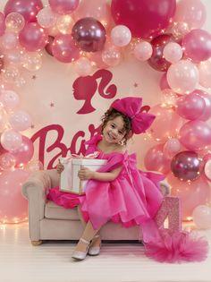 Barbie Theme Party, Barbie Birthday Party, Birthday Party Decorations Diy, Girl Birthday Themes, Baby Girl Birthday, Birthday Parties, Birthday Balloons, Ramadan Decoration, Foto Baby