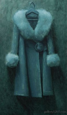 "Aaron Westerberg | ""Coat Study in Perylene"" 