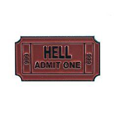 Ticket to Hell Pin - Ceramic Enamel Pin Bent Wookie https://smile.amazon.com/dp/B01N0N90Y4/ref=cm_sw_r_pi_dp_x_qsXpzb2X4ACCN