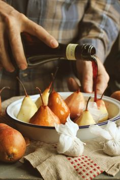 I love pears... and if you add some liquor, I'm in heaven...