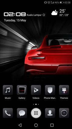 Install Porsche Theme on Huawei Pro Tech Updates, Kuala Lumpur, Porsche, Porch