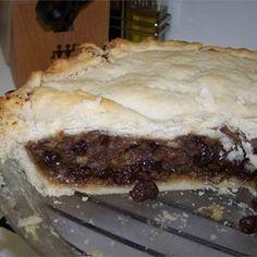 Blue Ribbon Mincemeat Pie Filling Recipe - Allrecipes.com                                                                                                                                                                                 More
