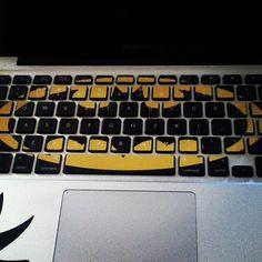 I would SO love a keyboard like this!