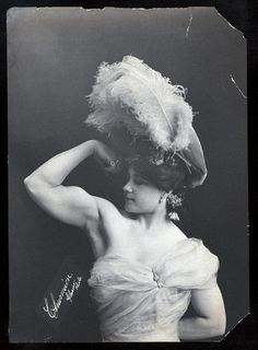 Katie Sandwina, circus strongwoman (1884 – 1952), the first woman to clean and jerk over 300 pounds (a record not equaled again until 1987 by Karyn Marshall).
