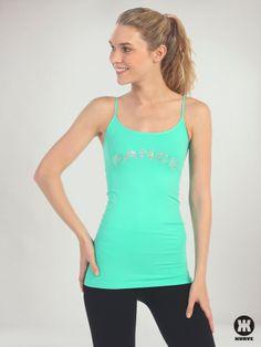 """Dance"" Sequin Long Cami   Kurve Shop #KurveDancewear #KURVE #KurveShop #Dance"