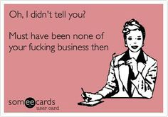 Minding your Business. ..