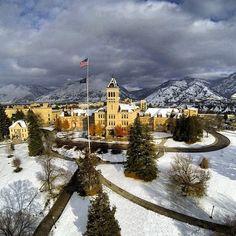 USU needs #nofilter #oldmain (by @Utah State University on Instagram)