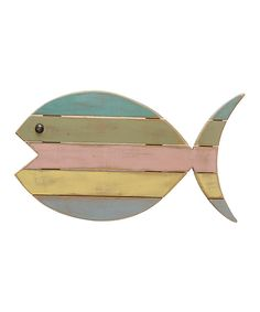 Another great find on #zulily! Color Block Fish by Primitives by Kathy #zulilyfinds