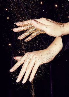 STYLING Model Hands :: Hand Model Ashley Frey - New Manicures, As Inspired by Modern Artists | The Cut