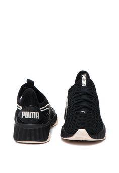 Pantofi sport cu aspect tricotat Defy Puma (190949-20) | Fashion Days Fashion Days, Adidas Sneakers, Interior, Casual, Sports, Products, Tennis, Tricot, Hs Sports
