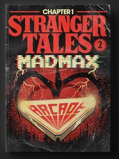 Stranger Tales 2: Ilustrador transforma episódios de Stranger Things 2 em capas de livros - Leitora Viciada