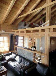 Le garde corps mezzanine jolies id es pour lofts avec mezzanine archzine - Rambarde interieur maison ...