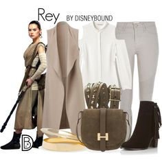 Disney Bound Rey - Star Wars Shoes - Ideas of Star Wars Shoes - Disney Bound Rey<<I suppose she DOES count as Disney so. Disney Inspired Fashion, Character Inspired Outfits, Disney Fashion, Girl Fashion, Disney Dresses, Disney Outfits, Disney Clothes, Movie Outfits, Fandom Outfits
