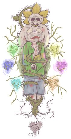 Hey wanted to draw some fanart of a fun and cute game for children. Asriel makes me very sad. I love him he may be my favorite. Also Flowey. Of course that's kind of redundant isn't it? I had a lot of...
