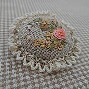 Needle Cushion, Pin Cushions, Elsa, Embroidery, Boho, Floral, Projects, Punto De Cruz, Needlepoint
