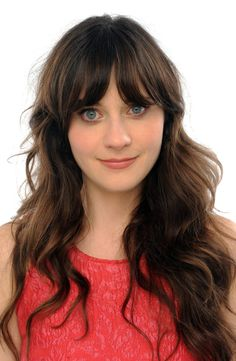 Zooey Deschanel's Hairstyle with Bangs Zooey Deschanel Hair, Zooey Dechanel, Emily Deschanel, Hair Day, New Hair, Hairstyles With Bangs, Cool Hairstyles, Locks, Celebrity Wigs