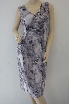 TOPSHOP Leopard Animal Print Lined Shift Dress #Topshop #Dress #Christmas