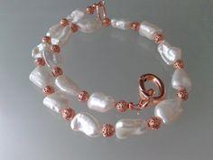 collana perle di fiume biwa con perle filigranate e di tizianat