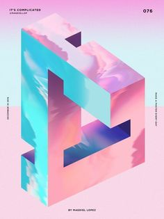 Inspirational illustrator and designer Magdiel Lopez has challenged himself to create a cool poster everyday. Ranging from abstract people, fashion, modern geometric and on to sci-fi rainbow fantasy!