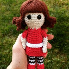 Meet Rosie! All the little girls will be in love with this cute and sweet little doll. She is the perfect size for little hands!