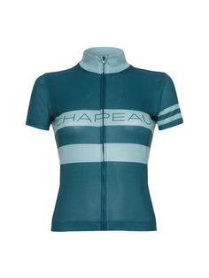 Madeleine Jersey Race Stripe Teal / Aqua