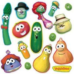 VeggieTales Characters Bulletin Board Set