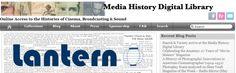 mediahistory, colección de periódicos sobre cine, sonido y mundo digital