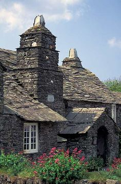 Tintagel Post Office, a National Trust property, Cornwall, England ~ Tintagel Old Post Office is a 14th-century stone house, built to the plan of a medieval manor house.