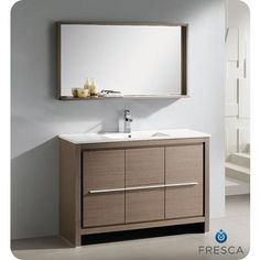 vanity with mirror modern bathroom vanities and modern bathrooms on