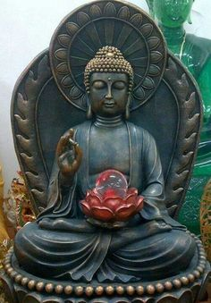 Spread of Buddhism-bronze statue of buddha. Gautama Buddha, Amitabha Buddha, Buddha Buddhism, Buddhist Art, Buddha Kunst, Buddha Zen, Meditations Altar, Religion, Zen Meditation