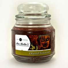 Oriental Teakwood 16oz Jar