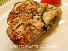 Con tu pan te lo comas: GRATÉN DE CALABACINES