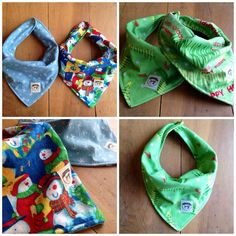 KYEbags handmade bags and accessories: Bandana bibs now available!