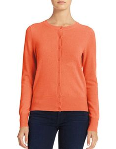Women's | Cashmere sweaters sale | Cashmere Crew Neck Cardigan | Hudson's Bay