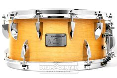 Canopus Neo Vintage M4 Snare Drum 14x6.5 NEO VINTAGE M4 is based upon the technology and specifications of some outstanding drum designs from the 1970s. Its unique design features 12 tension rods on top and 6 on the bottom.  Purchase Here: http://www.drumcenternh.com/drums/snare-drums/canopus-neo-vintage-m4-snare-drum-14x6-5-lacquer.html