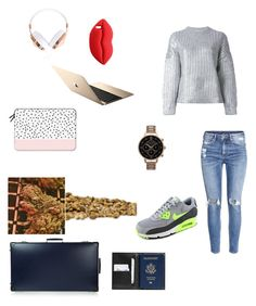 """""""Hemp 420"""" by loreta-798 ❤ liked on Polyvore featuring Casetify, STELLA McCARTNEY, Frends, DKNY, H&M, Globe-Trotter, Olivia Burton, NIKE, This Is Ground and women's clothing"""