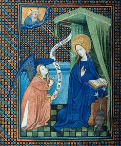 Book of Hours, MS M.46 fol. 47v - Images from Medieval and Renaissance Manuscripts - The Morgan Library & Museum