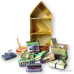 Papiergemetzel: Ein Wochenendhaus für die FrühlingsMailArt Shelves, Home Decor, Paper, Weekend House, Hanging Wallpaper, Shelving, Homemade Home Decor, Shelf, Open Shelving