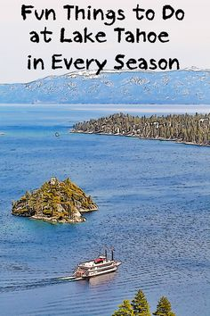 Gorgeous! Looking at Lake Tahoe is just one of the things you can do there. Get started making your plan with this helpful guide.