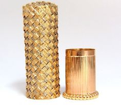 Buy online, view images and see past prices for LADIES WEAVE GOLD LIPSTICK CASE. Invaluable is the world's largest marketplace for art, antiques, and collectibles. Gold Lipstick, Lipstick Tube, Lipsticks, Antique Vanity, Vintage Vanity, Makeup Package, Unique Makeup, Vintage Beauty, Vintage Makeup