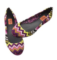 Missoni for Target. Can't do head to toe, but I can do toes! Did I mention my deep, binding love for Target?