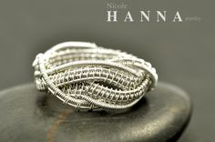 Amazing detail wire wrapped ring!  Nicole Hanna Jewlery