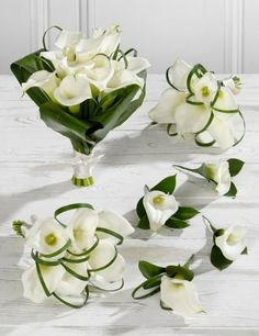 White Wedding Calla Lily Collection 2 - Marks & Spencer