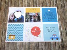 Einen Reisegutschein originell verpacken - Gifts of love Favors, Wraps, Happy Birthday, Presents, Paper, The Originals, Packaging, Travel, Travel Gifts
