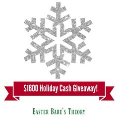 $1600 HOLIDAY CASH GIVEAWAY  Many bloggers have joined together to give our fans the opportunity to win some cash during the holidays. As a way of saying THANK YOU to our readers this holiday season, we will be giving away $400 TO 4 LUCKY READERS!  Dates: 11/15 – 12/22 Open to: Worldwide