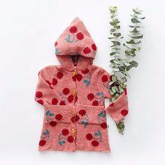Baby Gap Girls 3 6m Pink Hearts Fair Isle Cardigan Sweater