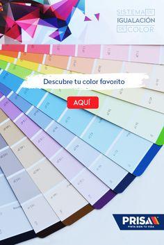 La gama de colores PRISA seguramente tiene el color que buscas y sino, ¡lo igualamos!
