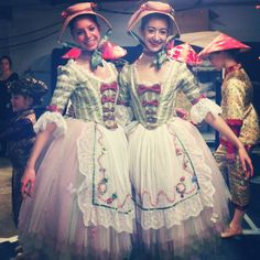 Boston Ballet's Nutcracker 2012 - Shepherdess. Just one of the beautiful new costumes in their redesigned production.