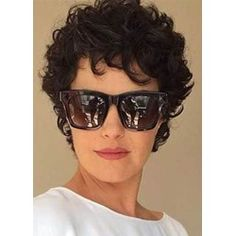20 latest short curly hairstyles for 2018 // # 2018 # for # . - 20 latest short curly hairstyles for 2018 // # 2018 - Asymmetrical Hairstyles, Haircuts For Curly Hair, Curly Hair Cuts, Hairstyles With Bangs, Short Hair Cuts, Curly Short, Fringe Hairstyles, Black Hairstyles, Hairstyles Pictures