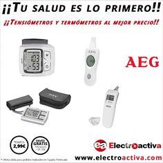 En Electroactiva queremos que tu salud sea lo primero,por eso os ofrecemos esta gama de tensiómetros y termómetros al mejor precio. http://www.electroactiva.com/salud-y-belleza #Elmejorprecio #Tensiometro #Termometro #PymesUnidas
